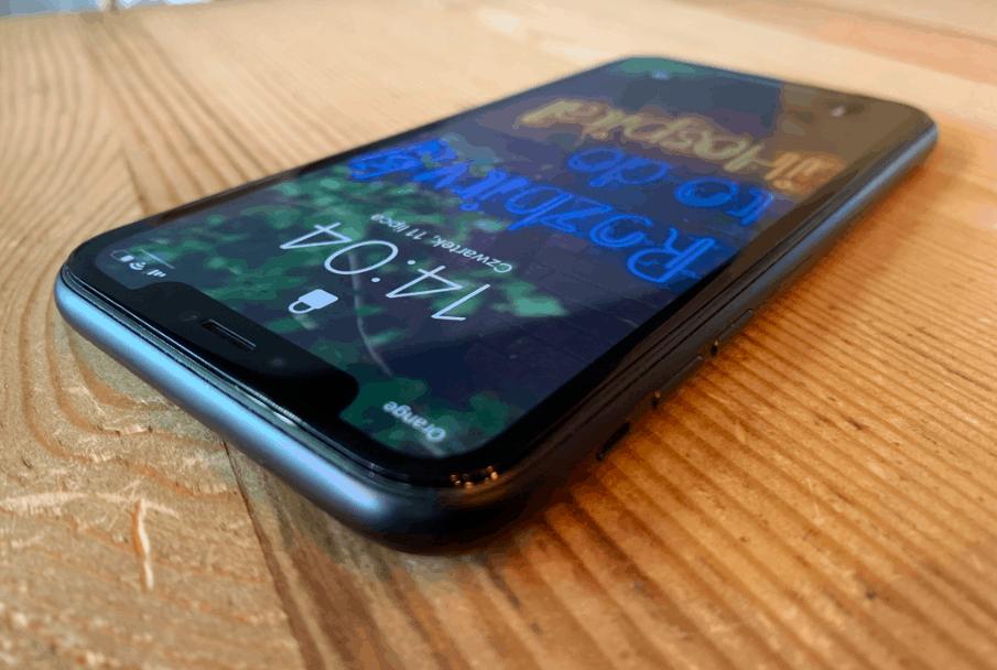 Wymiania wyświetlacza iPhone